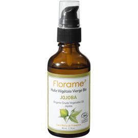 Florame huile végétale vierge bio jojoba 50ml - divers - florame -142135