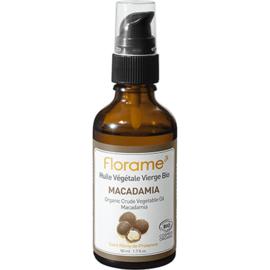 Florame huile végétale vierge bio macadamia 50ml - divers - florame -142134