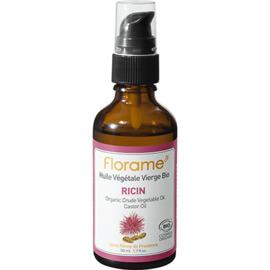 Florame huile végétale vierge bio ricin 50ml - florame -225671