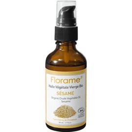 Florame huile végétale vierge bio sésame 50ml - divers - florame -142128
