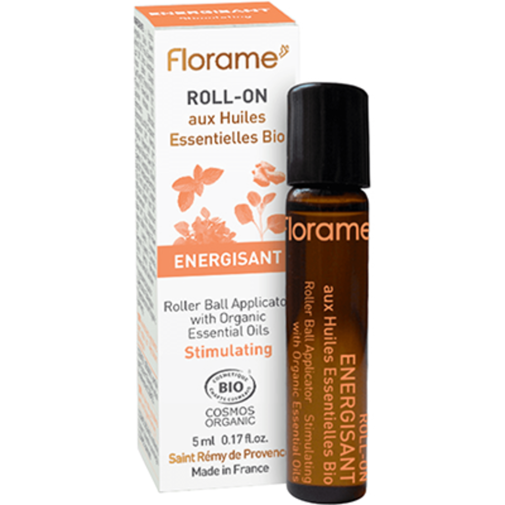 Florame roll-on energisant bio 5ml - florame -225680