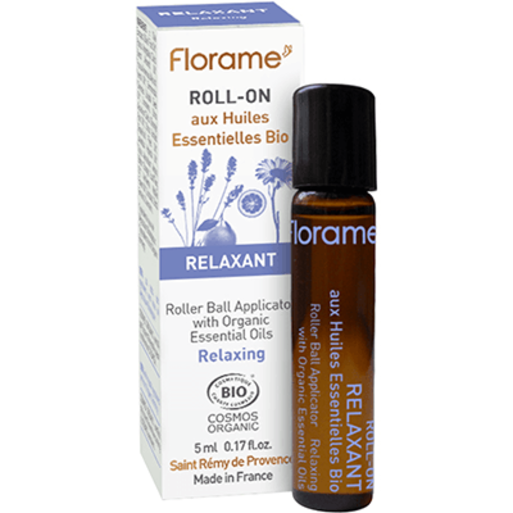 Florame roll-on relaxant bio 5ml - florame -225682