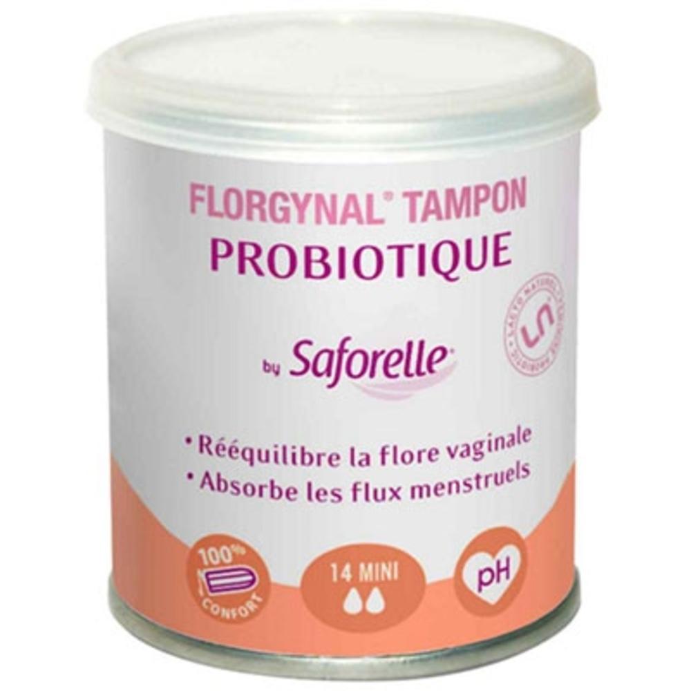 FLORGYNAL Tampons Probiotiques Mini x14 - 14.0 unites - Florgynal -112561