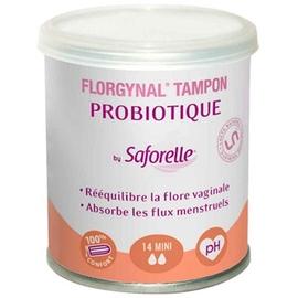Florgynal tampons probiotiques mini x14 - 14.0 unites - saforelle -112561