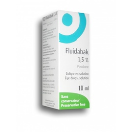 Fluidabak 1,5% collyre - 10.0 ml - thea -193988