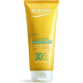 Fluide solaire wet or dry skin spf30 200ml - fluide solaire wet or dry skin - biotherm -213697