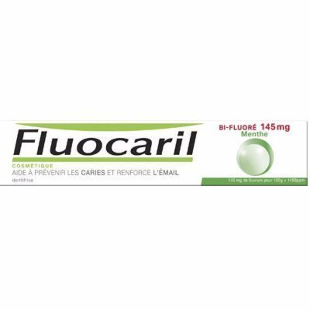 Fluocaril bi-fluoré 145mg dentifrice menthe 75ml - fluocaril -216092