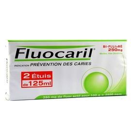 Fluocaril bi-fluoré 250mg menthe - 2x - 125.0 ml - procter & gamble -194361
