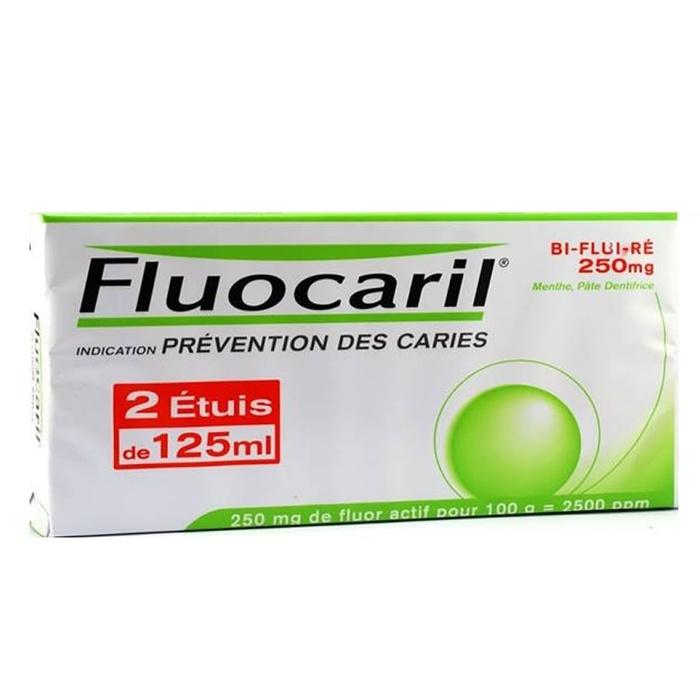 Fluocaril bi-fluoré 250mg menthe - 2x50ml Procter & gamble-192242