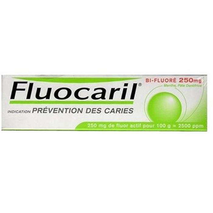 Fluocaril bi-fluoré 250mg menthe Procter & gamble-192837