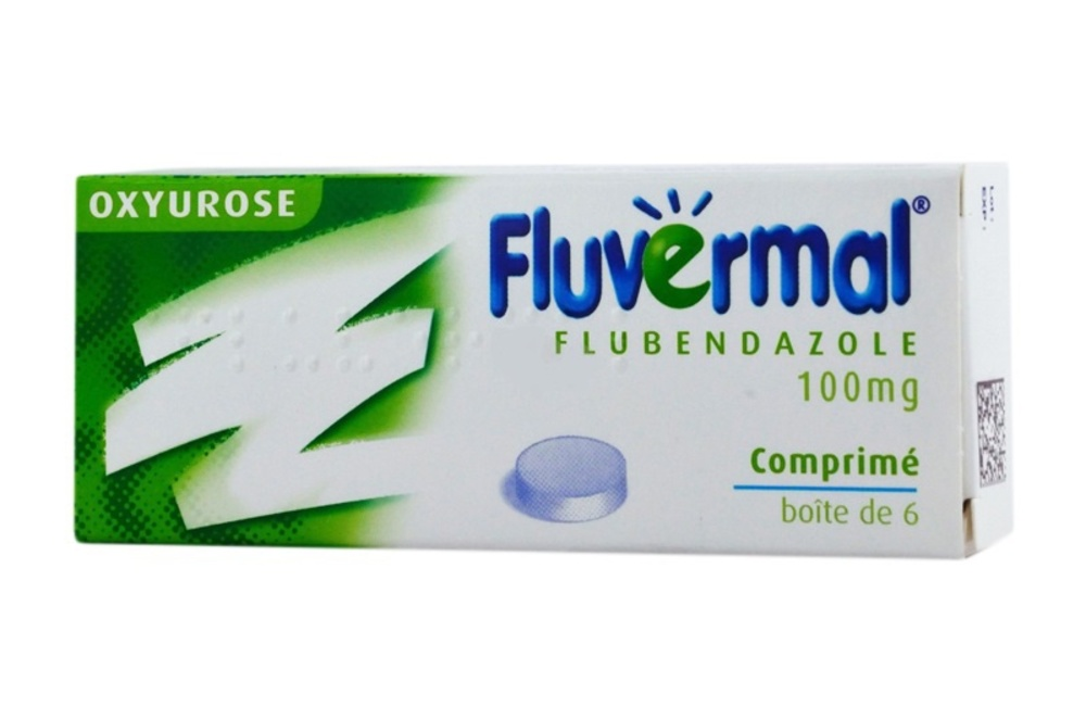 Fluvermal 100mg - 6 comprimés - johnson & johnson -192150