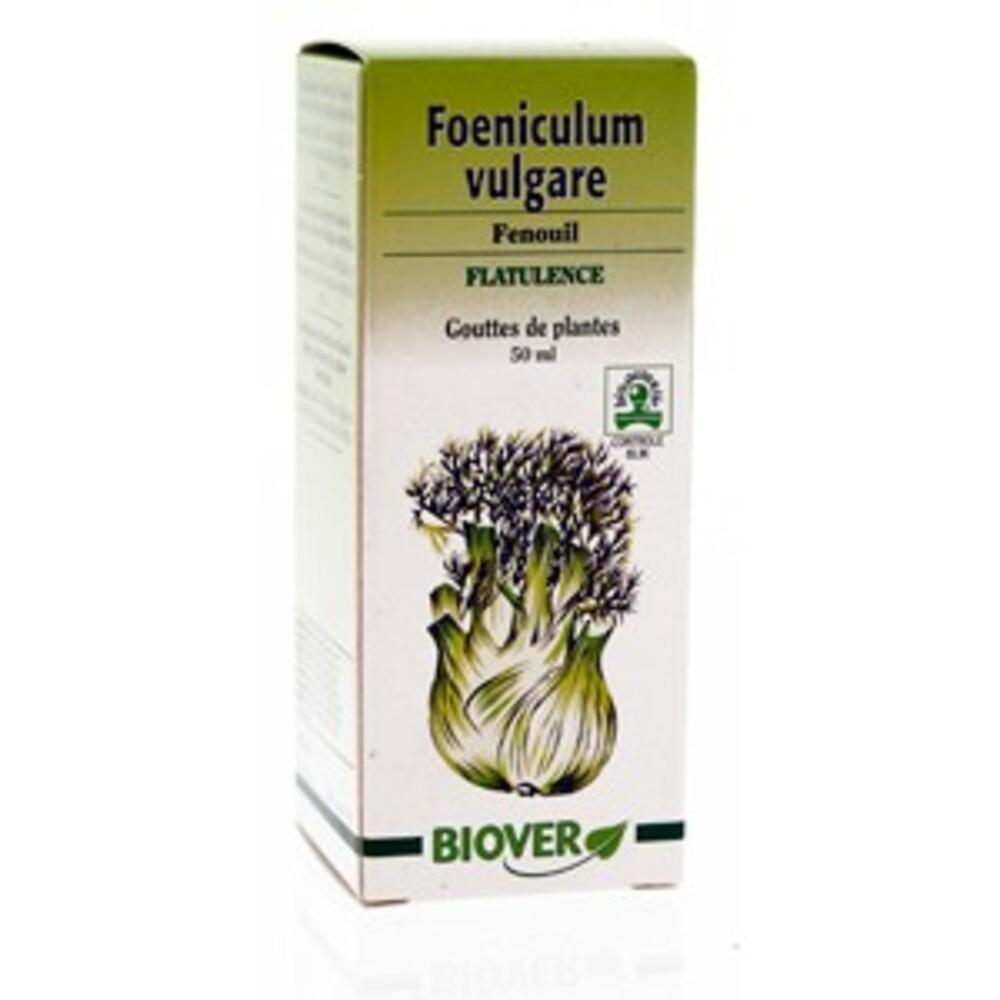 Foeniculum vulgare (fenouil) bio - 50.0 ml - gouttes de plantes - teintures mères - biover Digestion & Lactation des femmes allaitantes-8974