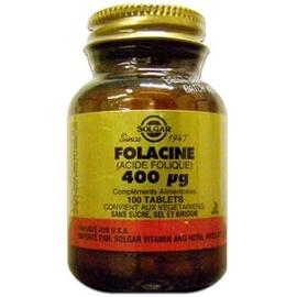 Folacine 100 tablets - solgar -195437