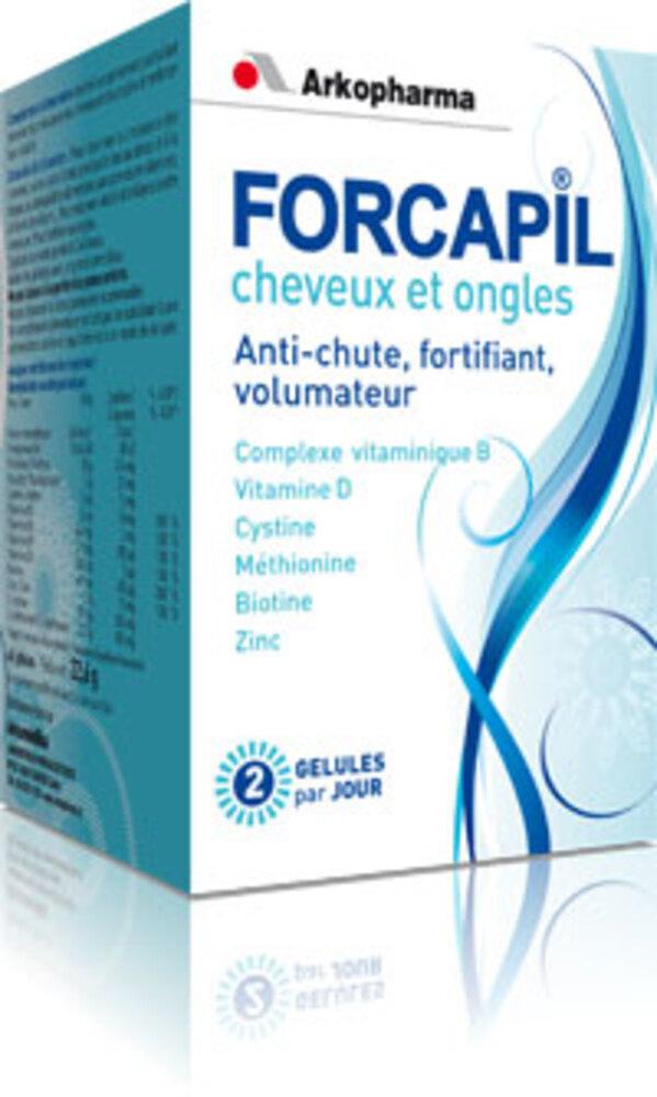 Forcapil cheveux et ongles programme intensif - 180.0 unites - forcapil - arkopharma -105128