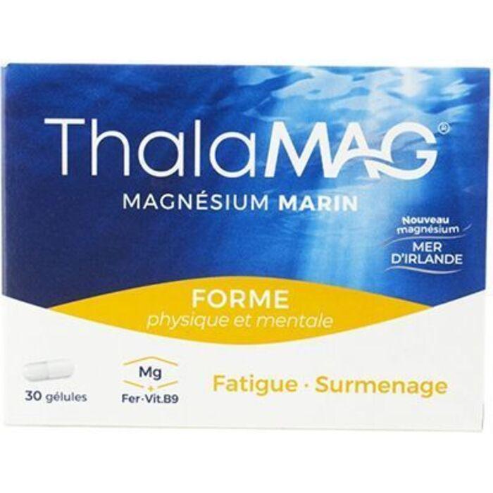 Forme physique et mentale 30 gélules Thalamag-227801