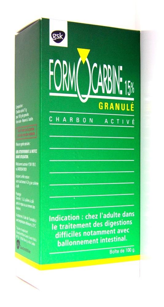 Formocarbine 15% granules - 100.0 g - omega pharma -193051
