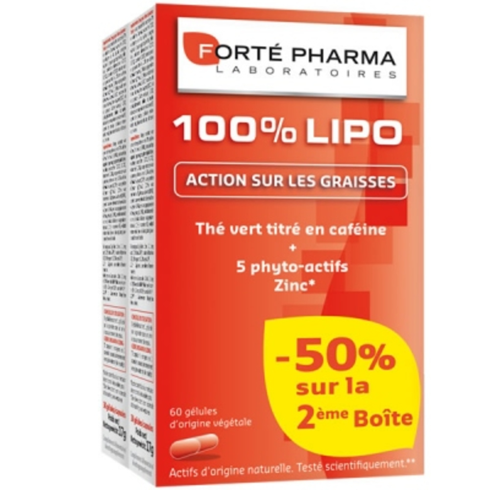 Forte pharma 100% lipo - lot de 2 - forté pharma -148291