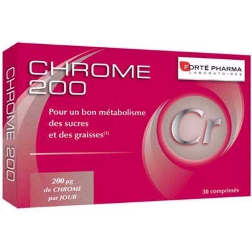 Forte pharma chrome 200 30 comprimés - forté pharma -210516