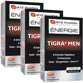 Forte pharma enegie tigra+ men - lot de 3 - forté pharma -195428