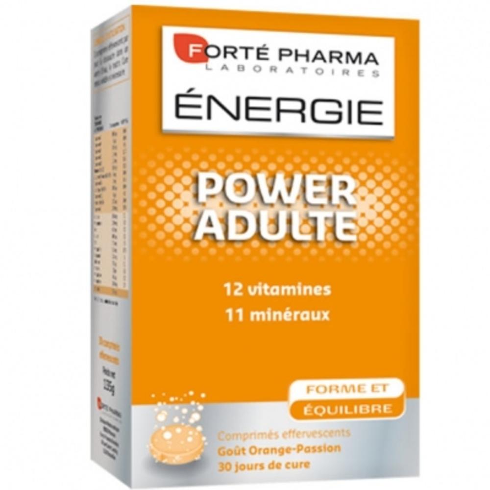 Forte pharma energie power adulte effervescent - forté pharma -195633
