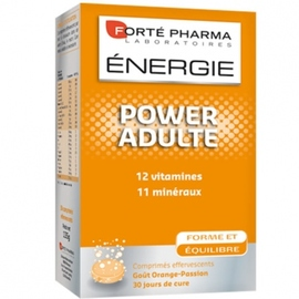 Forte pharma energie power adulte effervescent - forté pharma -195633