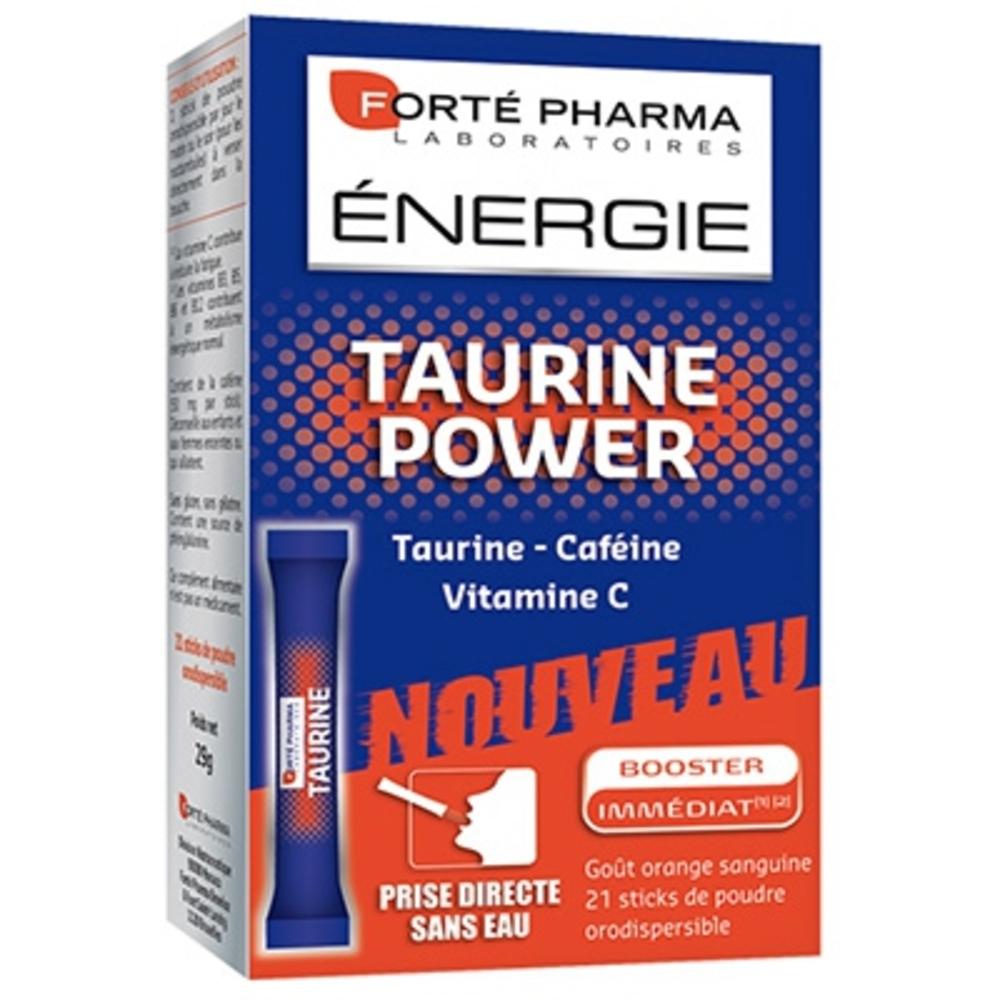 Forte pharma energie taurine power - sticks - forté pharma -203205