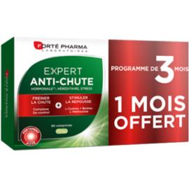 Forte pharma expert anti-chute 90 comprimés - 1 boîte offerte - forté pharma -221075