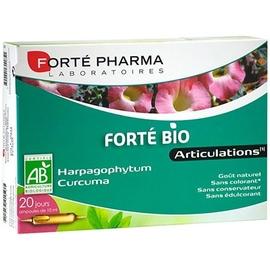 Forte pharma forté bio articulations - 20 ampoules - forté pharma -211061