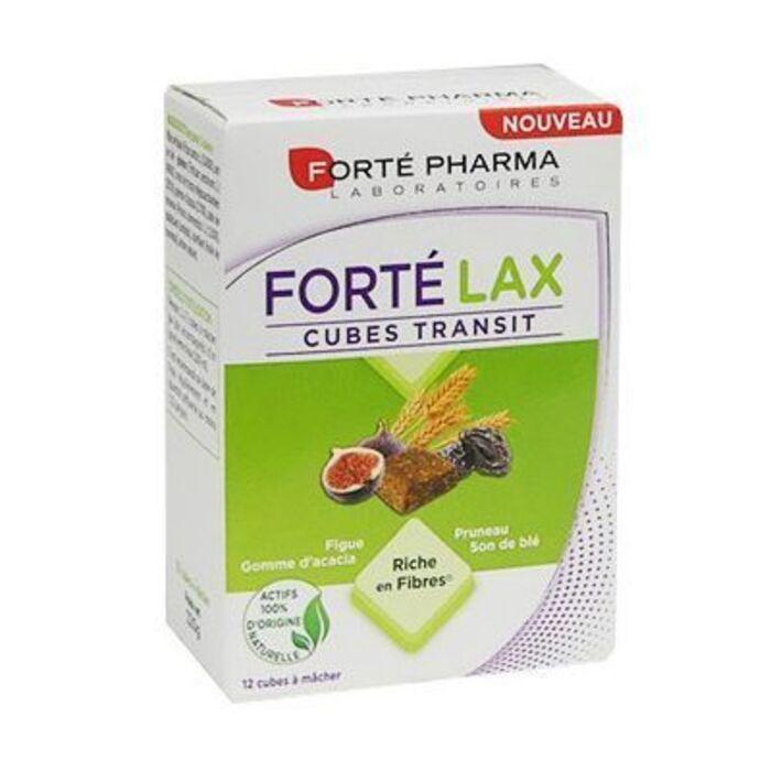Forte pharma forté lax transit 12 cubes Forté pharma-228182