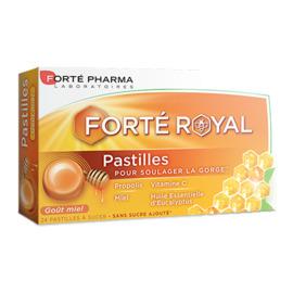 Forte pharma forté royal miel 24 pastilles - 24.0 u - forté pharma -226290