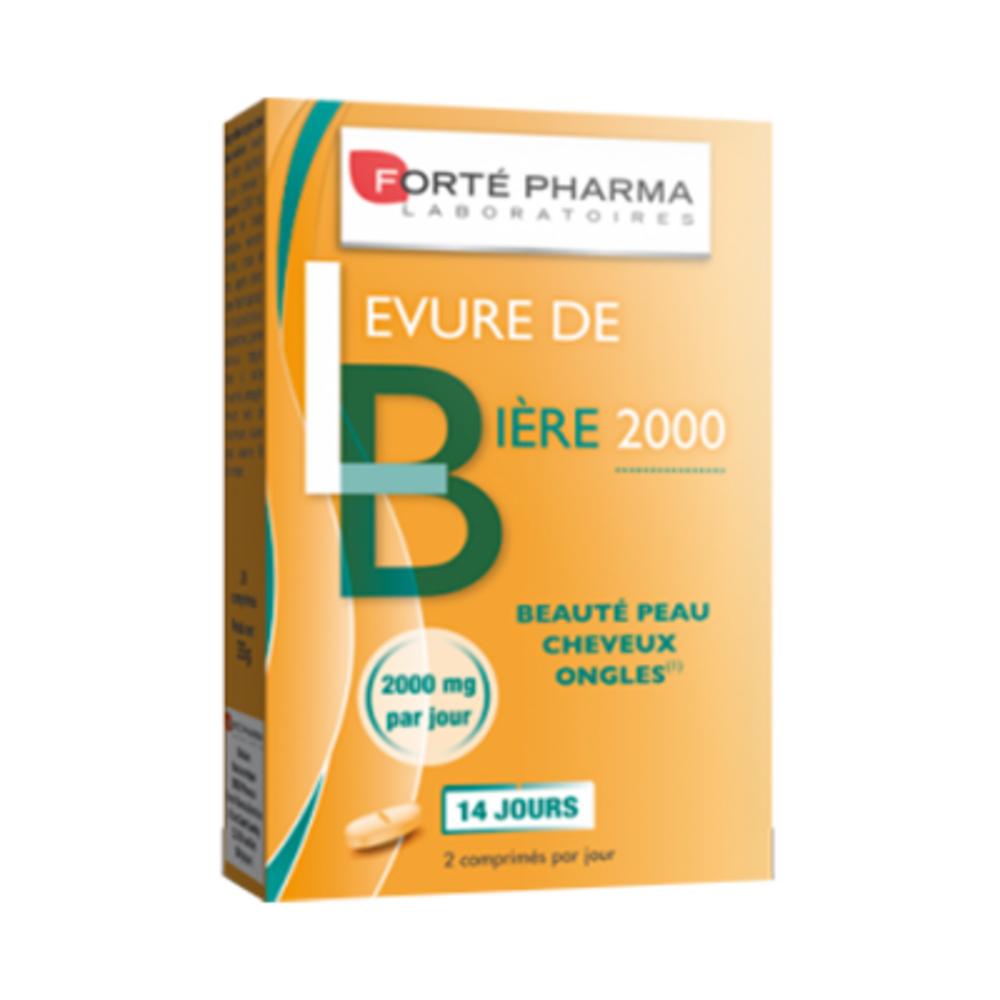 Forte pharma levure de bière 2000 - 28 gélules - forté pharma -213964