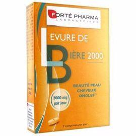 Forte pharma levure de bière 2000mg 56 comprimés - forté pharma -215338
