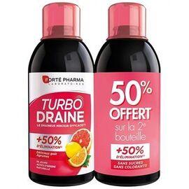 Forte pharma turbodraine agrumes lot de 2 x 500ml - forté pharma -220447
