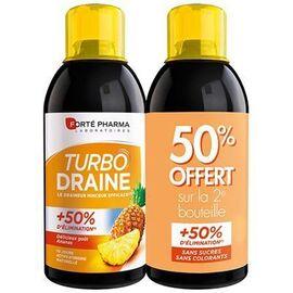 Forte pharma turbodraine ananas lot de 2 x 500ml - forté pharma -216491