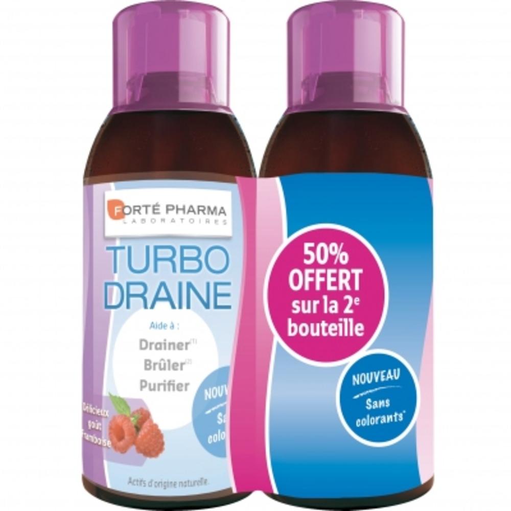 Forte pharma turbodraine framboise - lot de 2 - forté pharma -156644
