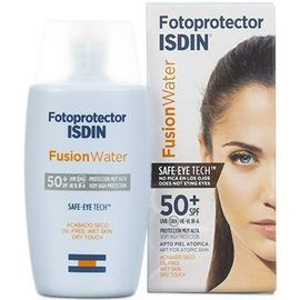 Fotoprotector fusionwater color spf50 50ml - isdin -225882