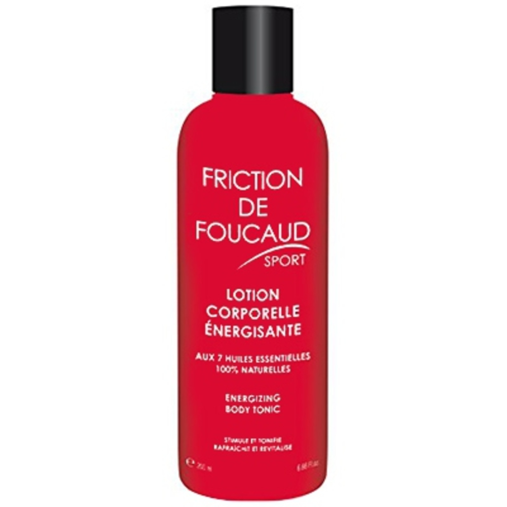 Friction de  sport lotion corporelle 200ml - foucaud -197358