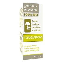 Friction fongiarom bio - 10.0 ml - frictions - pranarom Ongles et pieds sensibles et abîmés-12365