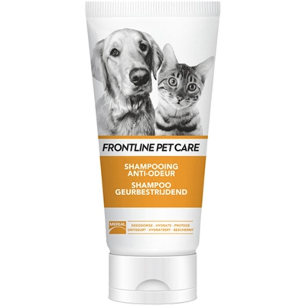 Frontline pet care shampooing anti-odeur 200ml - merial -212808