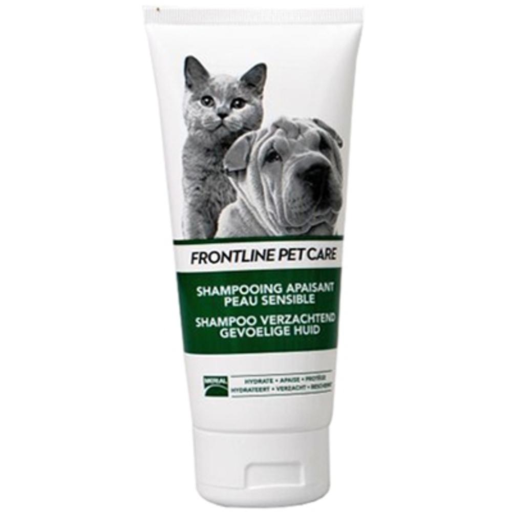 Frontline pet care shampooing apaisant - 200ml - merial -205232