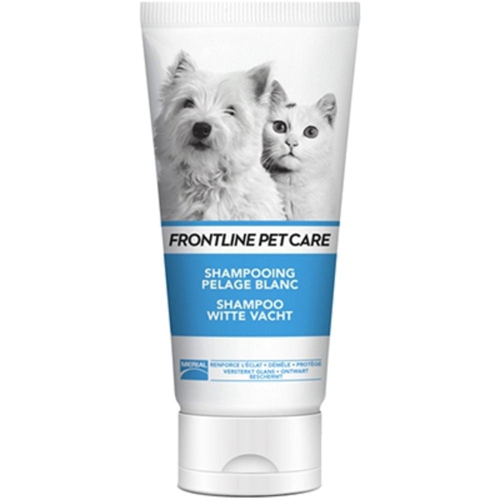 Frontline pet care shampooing pelage blanc 200ml - merial -212806