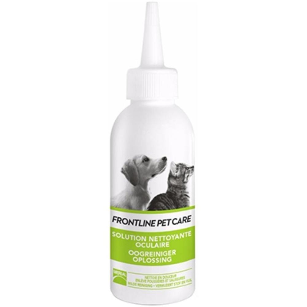 Frontline pet care solution nettoyante oculaire - 125ml - merial -206159