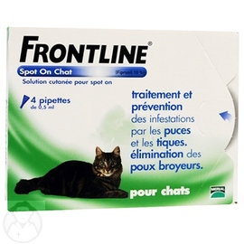 FRONTLINE Spot-on Chat - 4 pipettes - FRONTLINE -190365