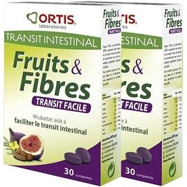 Fruits & fibres comprimés - lot de 2 - ortis -194805