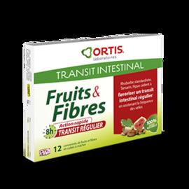 Fruits & fibres transit régulier - 12 cubes - ortis -199313