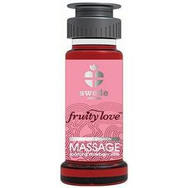 Fruity love massage fraise/champagne 50 ml - swede -220981