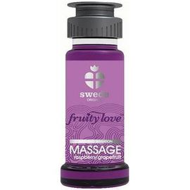 Fruity love massage framboise/pamplemousse 50 ml - swede -220980