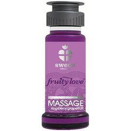 Fruity love massage framboise/pamplemousse 50 ml - swede -220980