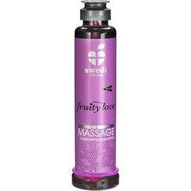 Fruity love massage framboise raisin 200ml - swede -222418
