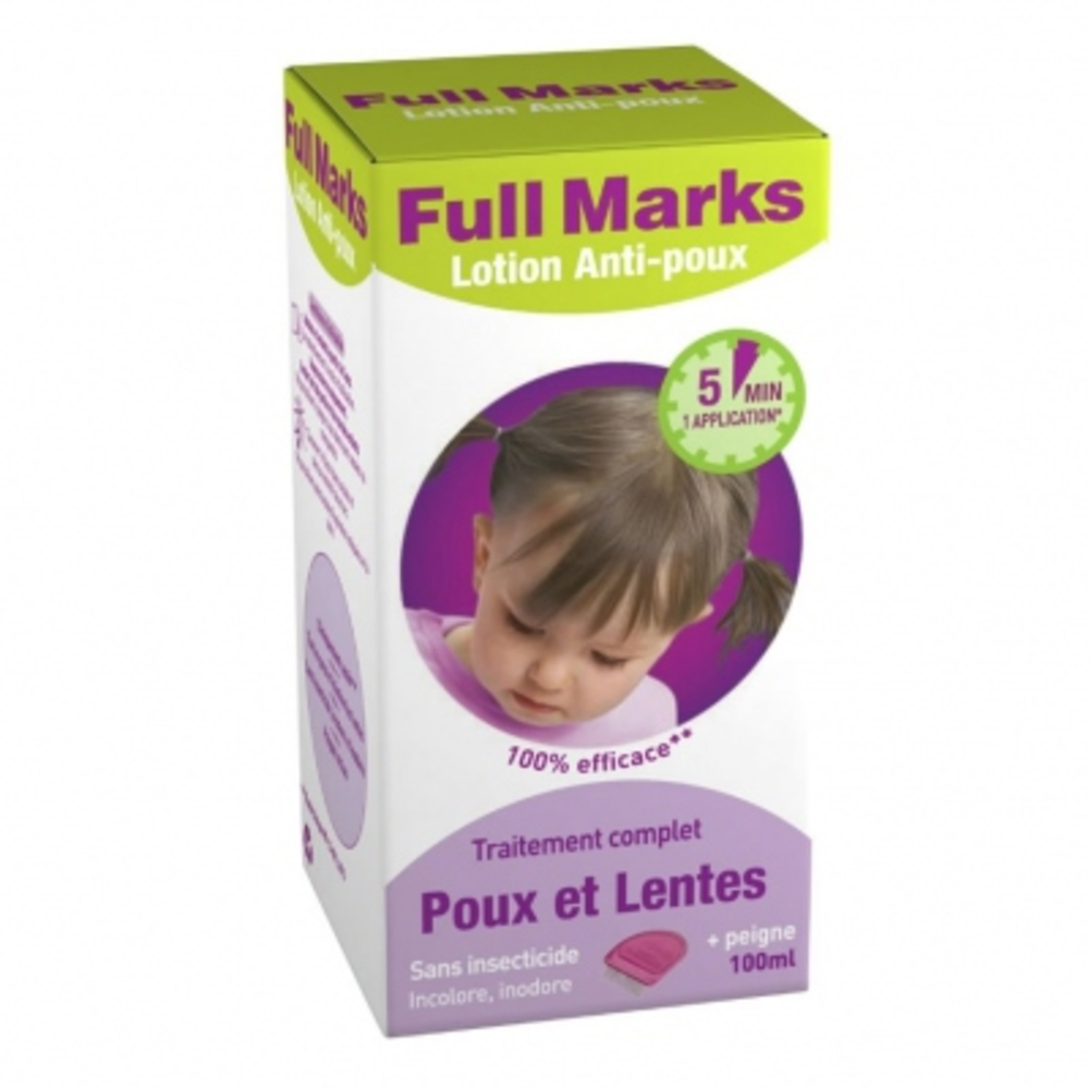 Full marks lotion anti-poux - full marks -205422